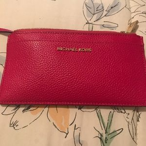 Michael Kors Large Slim Card Case/Wallet key ring